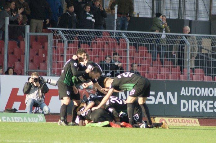 38. Spieltag; Preußen Münster – Jahn Regensburg