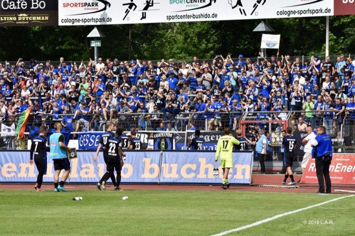 38. Spieltag 17/18: Fortuna Köln - SC Paderborn 07 - Bild