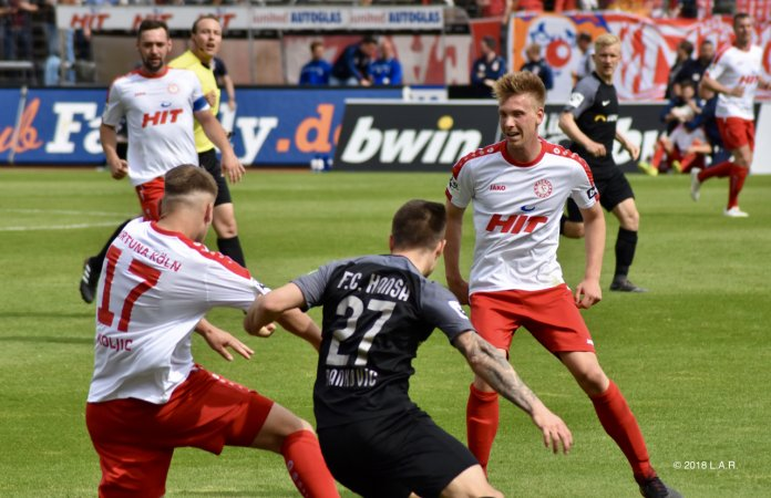 Köln und Hansa trennen sich 0:0 – Spielbericht