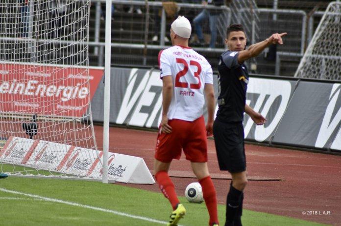 36. Spieltag 17/18: Fortuna Köln - Hansa Rostock - Bild