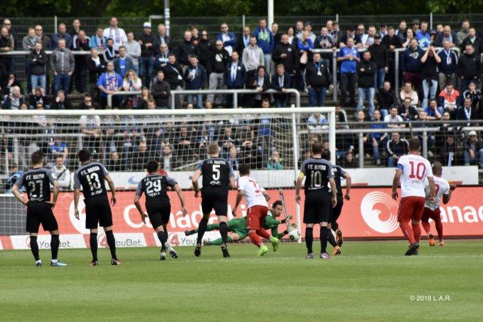 36. Spieltag 17/18: Fortuna Köln - Hansa Rostock