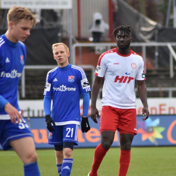 23. Spieltag 17/18: Fortuna Köln - SpVgg Unterhaching - Bild