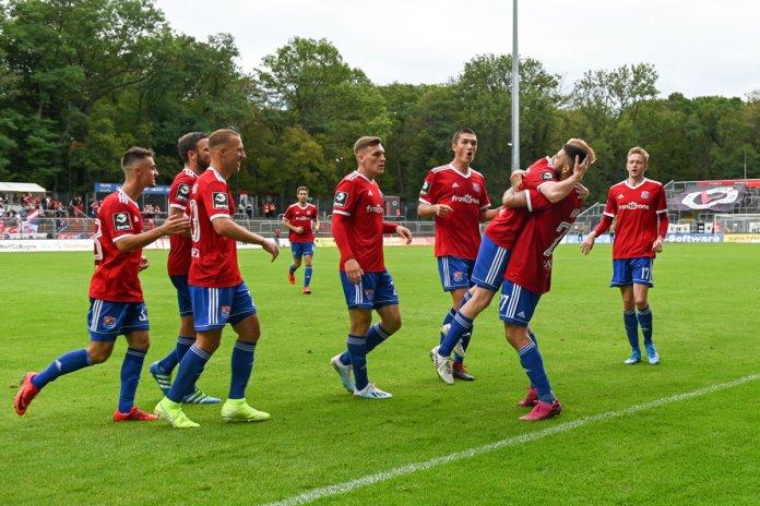 5. Spieltag 19/20: Viktoria Köln - SpVgg Unterhaching - Bild