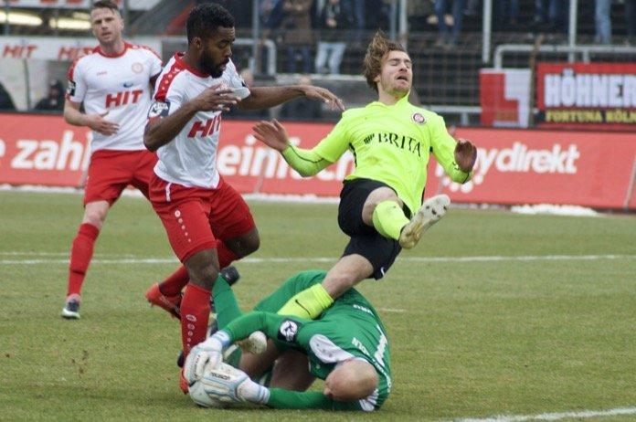 22. Spieltag 16/17: Fortuna Köln - SV Wehen Wiesbaden