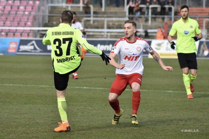 25. Spieltag 17/18: Fortuna Köln - SV Wehen Wiesbaden