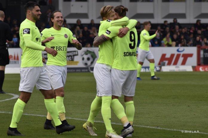 14. Spieltag 18/19: Fortuna Köln - SV Wehen Wiesbaden - Bild