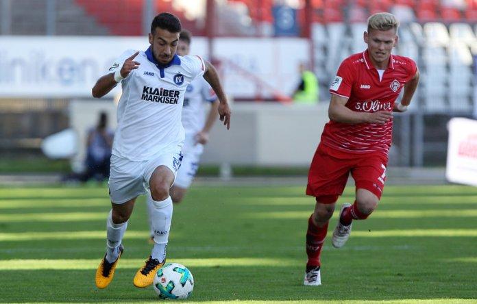12. Spieltag 17/18: Karlsruher SC - Würzburger Kickers