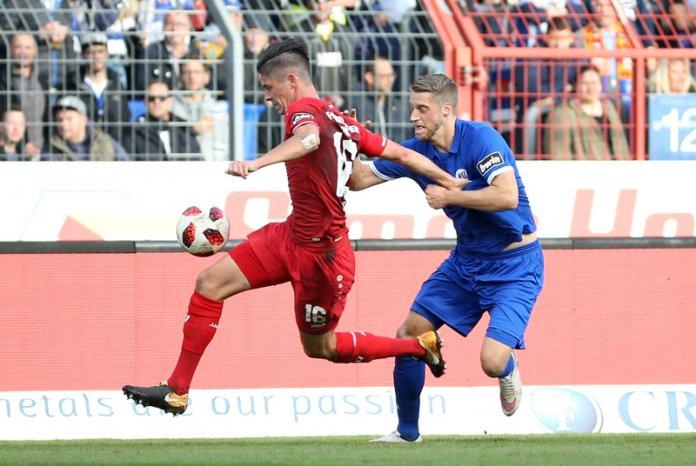 14. Spieltag 18/19: Karlsruher SC - Würzburger Kickers - Bild