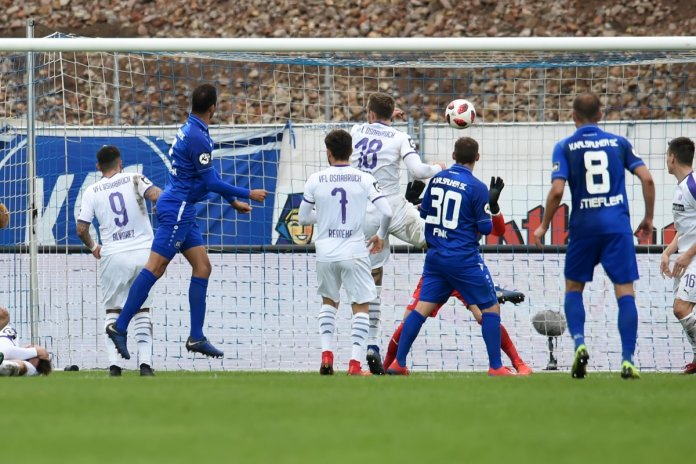 26. Spieltag 18/19: Karlsruher SC - VfL Osnabrück - Bild