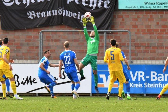 30. Spieltag 18/19: Sportfreunde Lotte - Eintracht Braunschweig - Bild