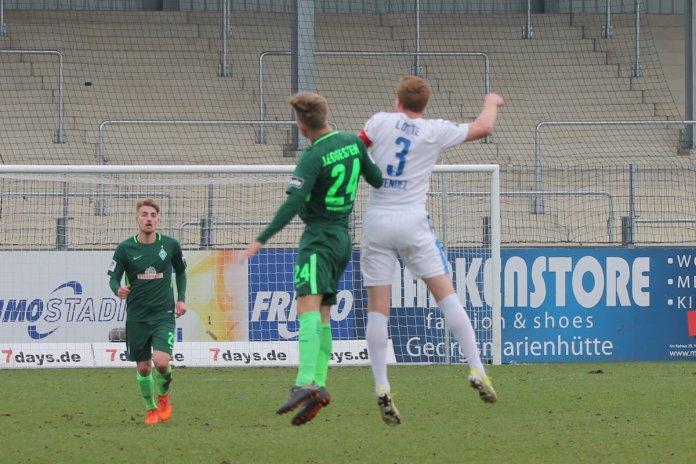 32. Spieltag 17/18: Sportfreunde Lotte - SV Werder Bremen II