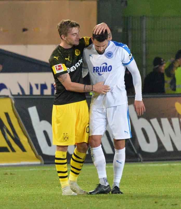 Testspiel: Sportfreunde Lotte - Borussia Dortmund  - Bild