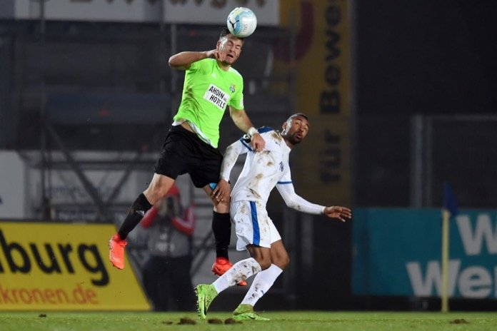 24. Spieltag 16/17: Sportfreunde Lotte - Chemnitzer FC