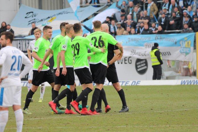 31. Spieltag 17/18: Sportfreunde Lotte - Chemnitzer FC