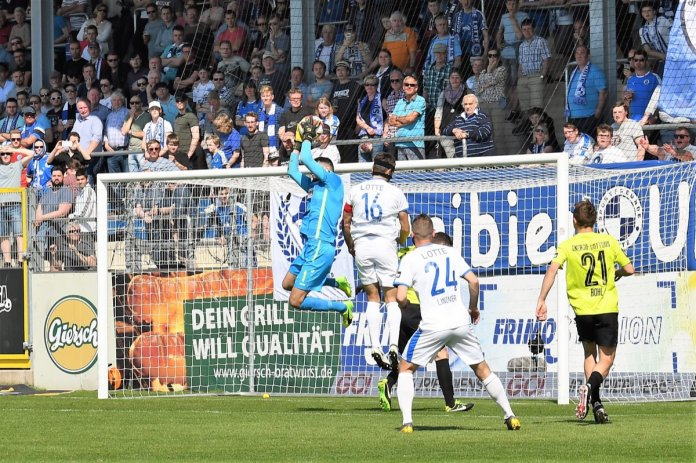 34. Spieltag 18/19: Sportfreunde Lotte - Energie Cottbus