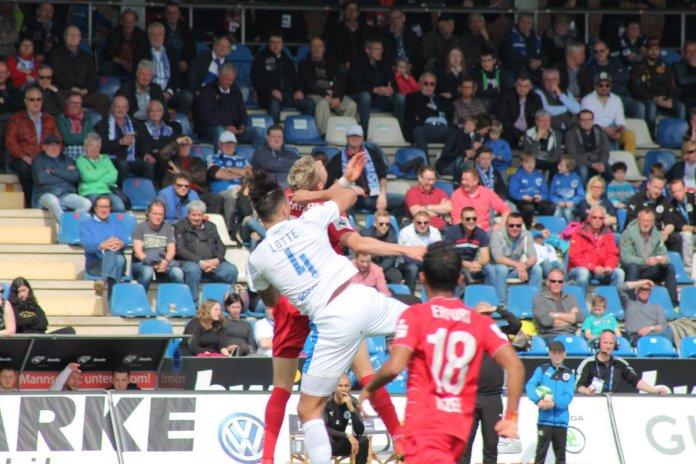 34. Spieltag 17/18: Sportfreunde Lotte - Rot-Weiß Erfurt  - Bild