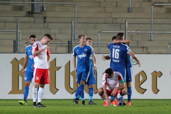 Lotte siegt gegen Halle – Spielbericht + Bilder
