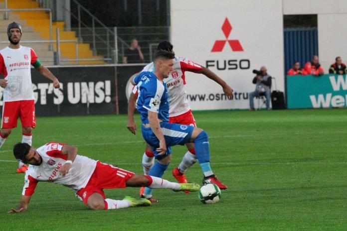11. Spieltag 17/18: Sportfreunde Lotte - Hallescher FC