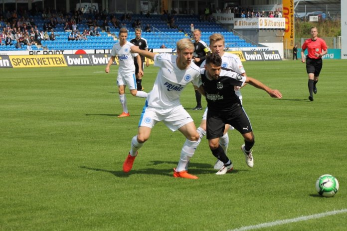 24. Spieltag; Carl Zeiss Jena – SF Lotte