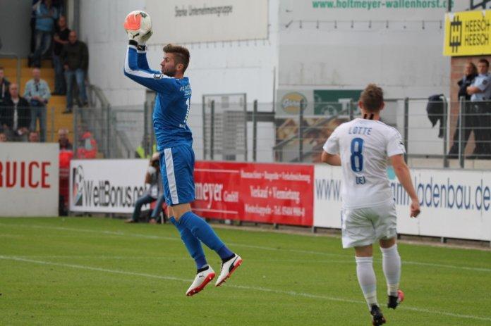 5. Spieltag 17/18: Sportfreunde Lotte - Carl Zeiss Jena  - Bild