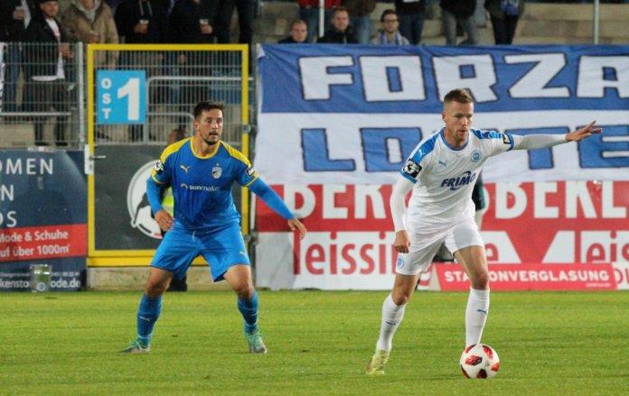 9. Spieltag 18/19: Sportfreunde Lotte - Carl Zeiss Jena - Bild