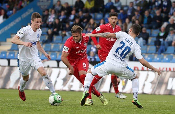 36. Spieltag 17/18: Sportfreunde Lotte - Würzburger Kickers