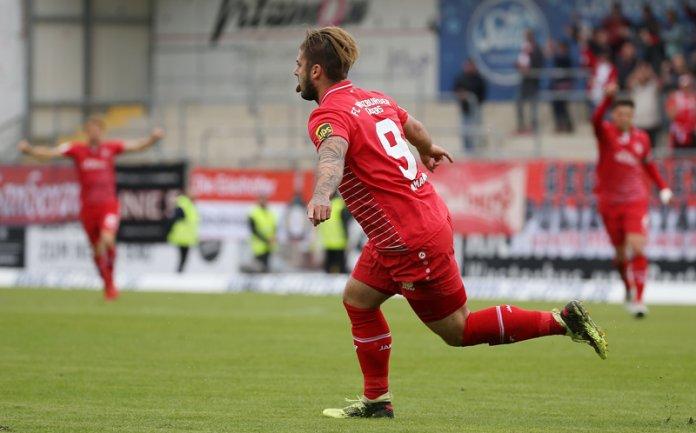 36. Spieltag 17/18: Sportfreunde Lotte - Würzburger Kickers - Bild