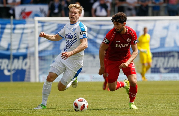 38. Spieltag 18/19: Sportfreunde Lotte - Würzburger Kickers