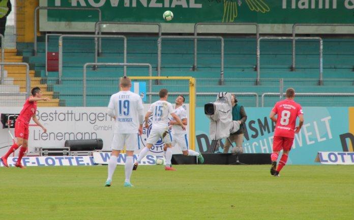 36. Spieltag 17/18: Sportfreunde Lotte - Würzburger Kickers Teil 2 - Bild