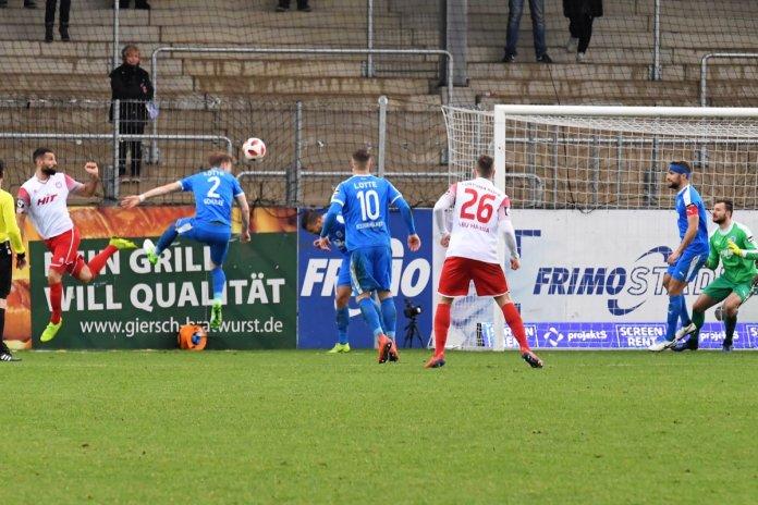 27. Spieltag 18/19: Sportfreunde Lotte - Fortuna Köln - Bild