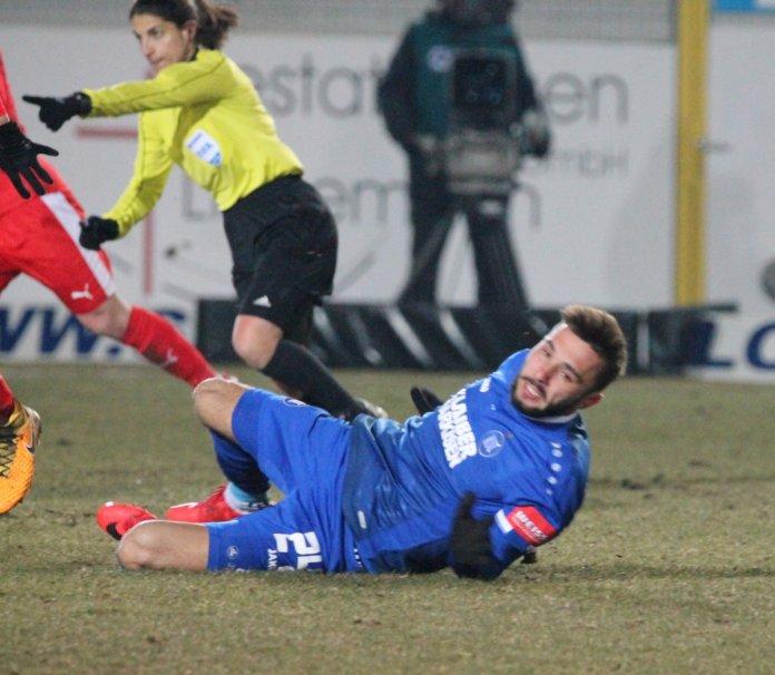 27. Spieltag 17/18: Sportfreunde Lotte - Karlsruher SC