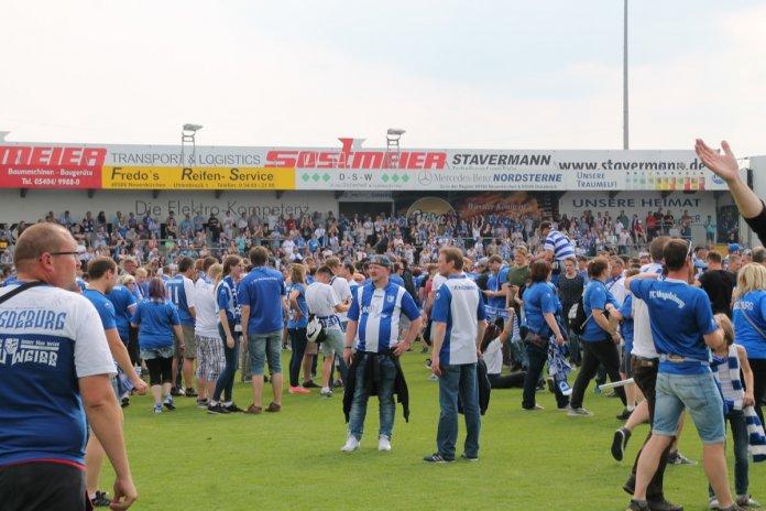 38. Spieltag 17/18: Sportfreunde Lotte - 1. FC Magdeburg - Bild