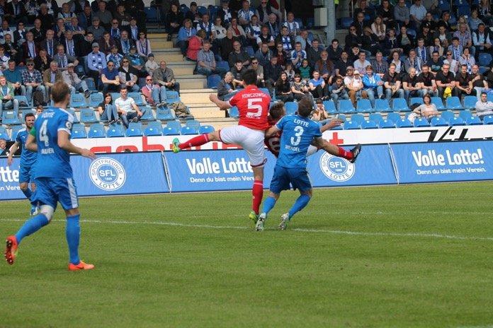 37. Spieltag 16/17: Sportfreunde Lotte - 1. FSV Mainz 05 II