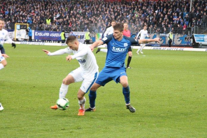 35. Spieltag; SV Meppen – Sportfreunde Lotte
