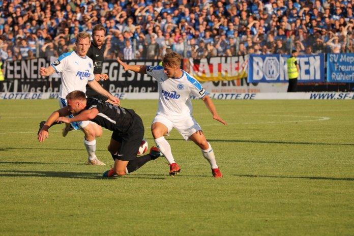 1. Spieltag 18/19: Sportfreunde Lotte - SV Meppen - Bild