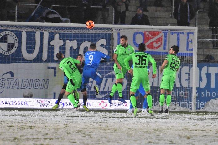 21. Spieltag 18/19: Sportfreunde Lotte - TSV 1860 München - Bild