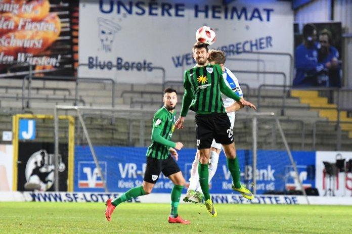 23. Spieltag 18/19: Sportfreunde Lotte - Preußen Münster - Bild