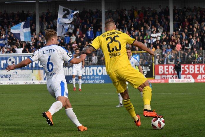 12. Spieltag 18/19: Sportfreunde Lotte - VfL Osnabrück