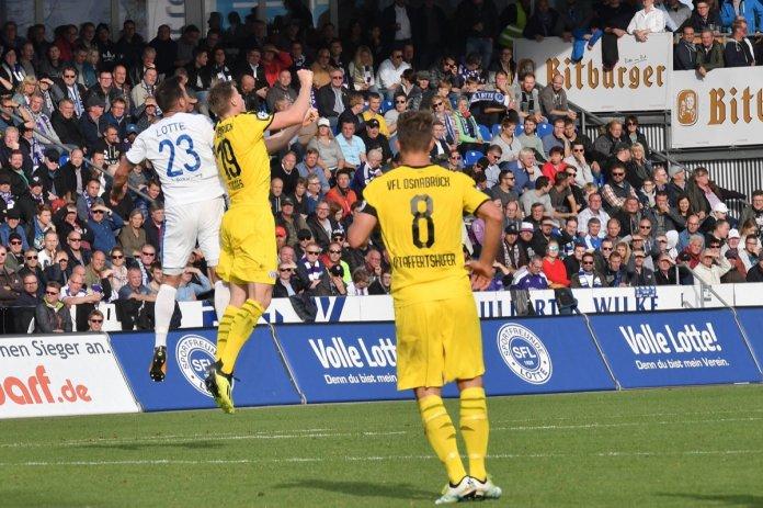 12. Spieltag 18/19: Sportfreunde Lotte - VfL Osnabrück - Bild