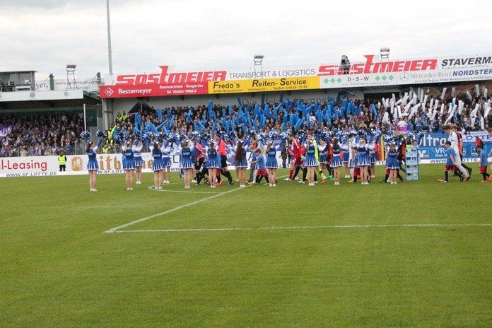 Ein gerechtes und spannendes torloses Unentschieden zwischen den Nachbarn Lotte und Osnabrück