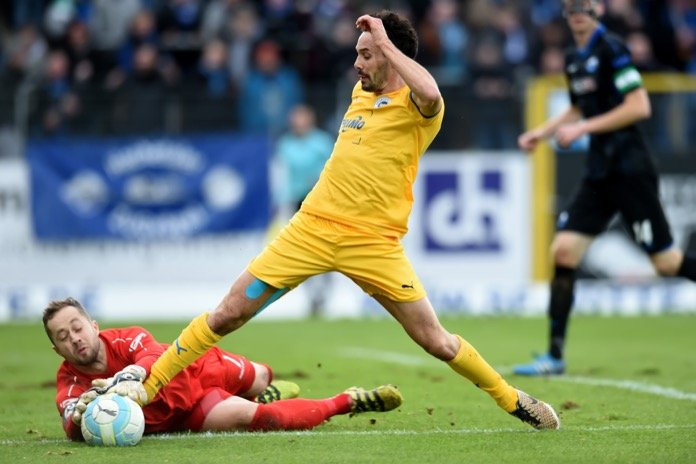 15. Spieltag 16/17: Sportfreunde Lotte - SC Paderborn 07
