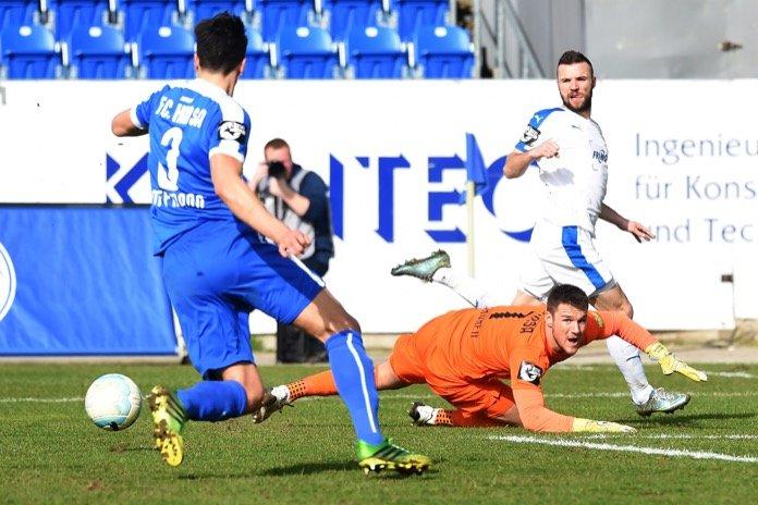 26. Spieltag 16/17: Sportfreunde Lotte - Hansa Rostock