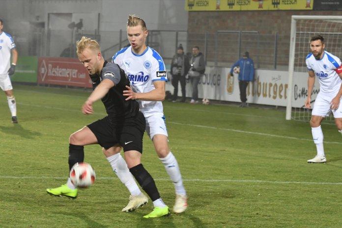 16. Spieltag 18/19: Sportfreunde Lotte - Hansa Rostock - Bild