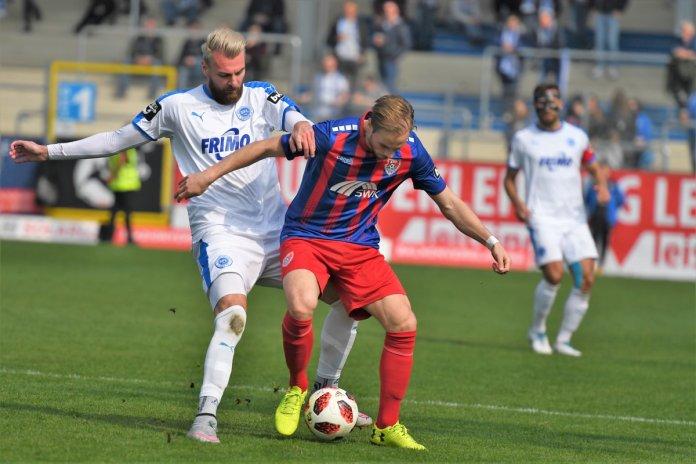 32. Spieltag 18/19: Sportfreunde Lotte - KFC Uerdingen 05 - Bild