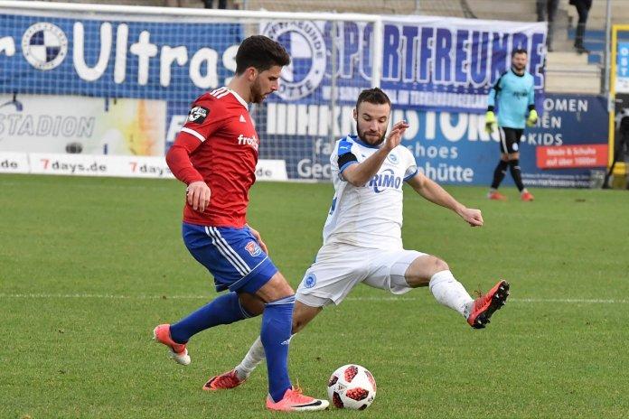 18. Spieltag 18/19: Sportfreunde Lotte - SpVgg Unterhaching