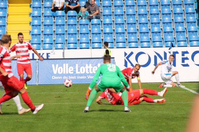7. Spieltag 18/19: Sportfreunde Lotte - FSV Zwickau - Bild