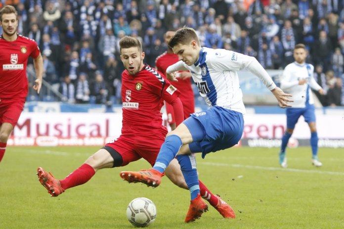 20. Spieltag 17/18: 1. FC Magdeburg - Sonnenhof Großaspach - Bild