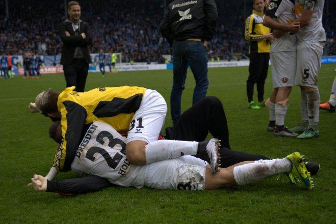 34. Spieltag; 1. FC Magdeburg – Dynamo Dresden (Stimmen zum Spiel)