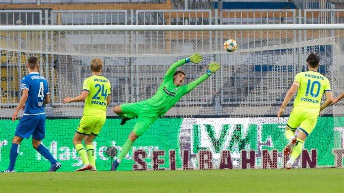 8. Spieltag 19/20: 1. FC Magdeburg - MSV Duisburg - Bild