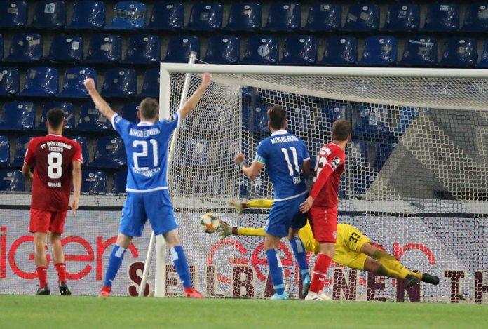 10. Spieltag 19/20: 1. FC Magdeburg - Würzburger Kickers